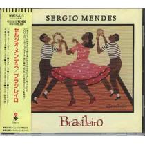 Cd Sergio Mendes - Brasileiro - 1992 - Importado Japão Promo