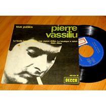 Pierre Vassiliu - Raro Compacto De Vinil Importado Da França