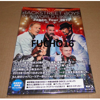 Backstreet Boys - Blu-ray Duplo In A World Like This Tour