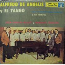 Lp.alfredo De Angelis Y El Tango Y Sus Cantores(frete Grátis