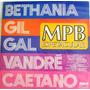 Lp Bethania Gil Gal Vandre Caetano