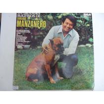 Disco De Vinil Lp Os Grandes Sucessos De Armando Manzanero