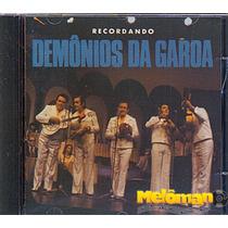 Demônios Da Garoa 2001 Recordando Cd Com Letras
