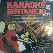 Karaoke Sertanejo Vol,2 Lp Coletanea