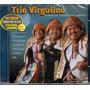 Cd Trio Virgulino Com Dominguinhos Alceu Valença Tato - Raro