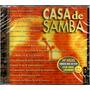 Cd Casa De Samba Ao Vivo Com Zeca Pagodinho Alcione Jovelina