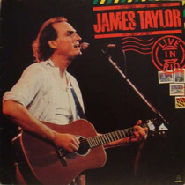 James Taylor Lp Live In Rio - Stereo - 1986
