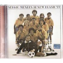 Cd Sergio Mendes And New Brasil 77 - Stevie Wonder - Raro