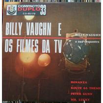 Billy Vaughn Sua Orquestra Filmes Tv - Compacto Vinil Rge