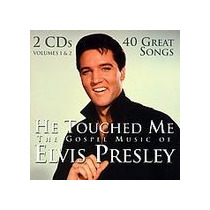 Elvis Presley Cd Duplo *he Touched Me* Gospel/40 Sucessos!!!
