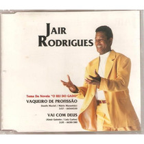 Cd Jair Rodrigues - Vaqueiro / Vai ( Single 1996 )