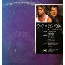 Wham! Lp Music From The Edge Of Panic