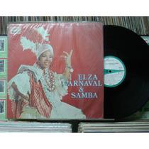 Elza Soares Carnaval & Samba - Lp Odeon 1969 Mono Original