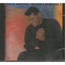 Cd Emílio Santiago - Aquarela Brasileira 5 - 1992