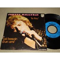 Johnny Hallyday - Compacto De Vinil Importado Orig. Francês