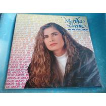Lp Zerado Martha Vieira Mil Anos Amor C/ Fatima Encarte 9