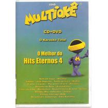 Dvd Multiokê - O Melhor Do Hits Eternos 4 - Novo***