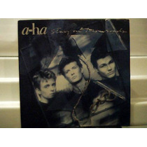 A-ha - Stay On These Roads - Lp - Warner 1988 Com Encarte
