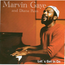 Cd Marvin Gaye And Diana Ross - Lets Get It On Original