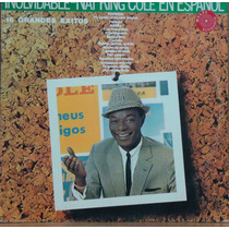 Lp (063) - Cantor(a) Inter. - Nat King Cole En Español