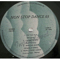 Non Stop Dance Vol 03 Lp Coletanea Dance/techno