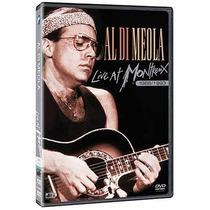 Al Di Meola Live At Montreux 1986/1993 Dvd Original Novo