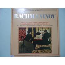 Disco De Vinil Lp Mestres Da Música Rachmaninov Lindoooooooo