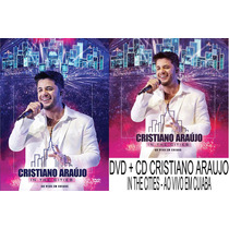 Dvd + Cd Cristiano Araujo - In The Cities Ao Vivo Em Cuiabá