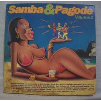 Lp Samba E Pagode Vol. 3 - Som Livre - 1993