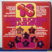 Lp 16 Super Sucessos Brasileiros 1975 Polystar Elis Mpb4 Gil