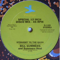 Bill Summers 12 Single Straight To The Bank Importado 1978