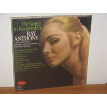 Lp Ray Anthony Hit Songs To Remember Disco De Vinil