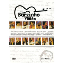 Dvd Um Barzinho Um Violão Ao Vivo 2001 Lacrado Original Raro