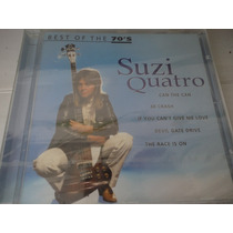 Suzi Quatro Best Of The 70´s Cd Europeu Lacrado Vend. Phono