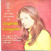 Disco De Vinil - Gigliola Cinquetti 1968 - Lp