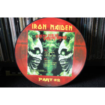Iron Maiden Scream For Me Saint Etienne Part. 2 Picture Lp