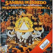 Sambas De Enredo Carnaval 89 Lp Duplo Esc.de Samba Grupo 1a