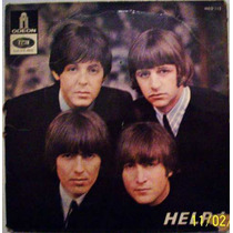 Vinil Compacto The Beatles - Help! - Importado França - Raro