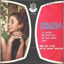 Gigliola Cinquetti Compacto De Vinil Non Ho L´etá-1964-mono
