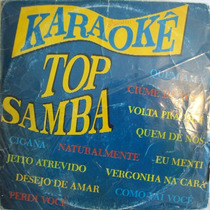 Karaoke Top Samba Lp Coletanea