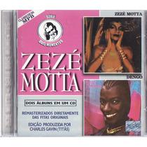 Cd Zeze Motta - Série Dois Momentos - Raríssimo