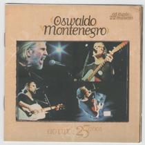 Cd Oswaldo Montenegro 25 Anos Ao Vivo Cd Duplo - Lua E Flor
