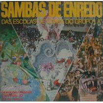 Sambas De Enredo Lp Escolas Do Grupo 1a Rio De Janeiro