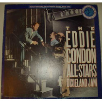 Disco Lp Jazz Eddie Condon All Stars Música Anos 50