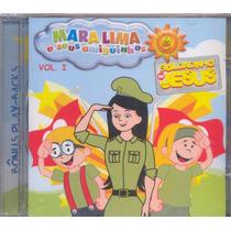 Cd Mara Lima E Seus Amiguinhos 1 / Playback Incluso.