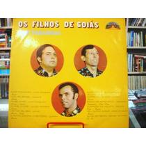 Vinil / Lp - Os Filhos De Goiás - Flôr Paraguaia - 1979