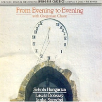 Cd From Evening To Evening With Gregorian Chant