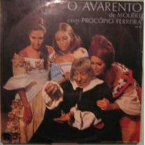 Procópio Ferreira - O Avarento De Moliére - 1969 - 2ª Edição