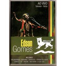 Dvd Edson Gomes - Ao Vivo ( Salvador/ Bahia ) - Novo***