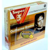 Box Guilherme Arantes Serie Super 3 (3 Cds) - Raro